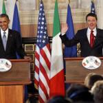 US President Obama meets Italian Premier Renzi
