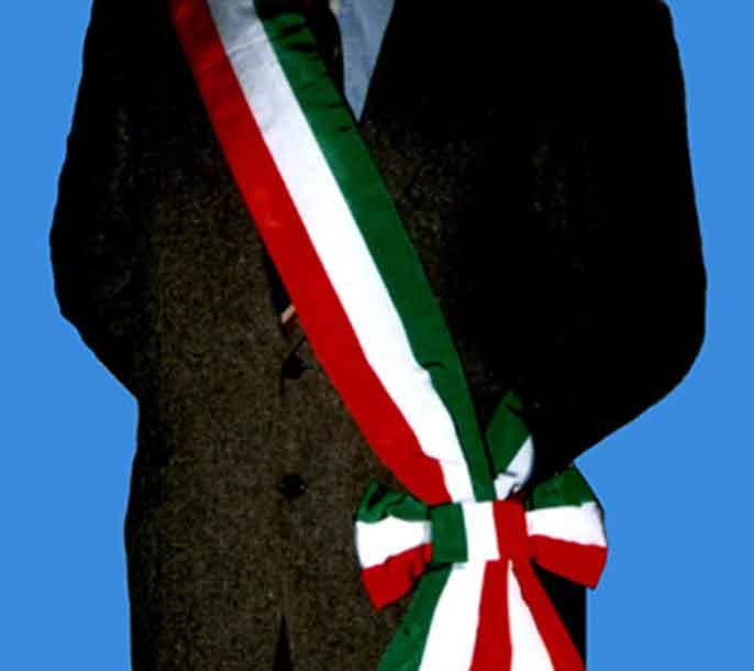 sindaco fascia tricolore