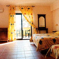albergo stanza
