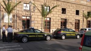 Guardia di finanza in comune Milazzo