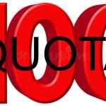 100 quota