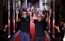 Dolce & Gabbana Secret Show At Bar Martini - Runway - Milan Fashion Week SS 2018