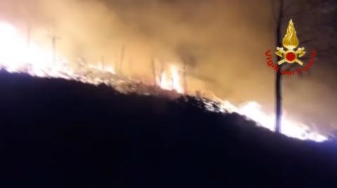 Incendio-Scopello
